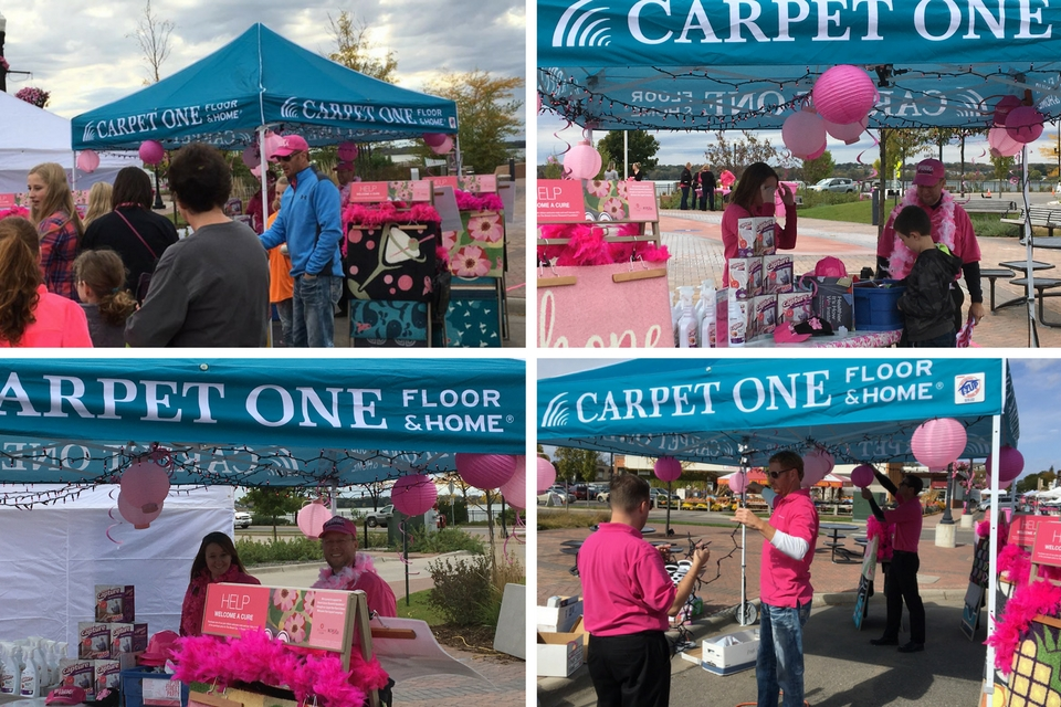 Kjellberg Carpet One Pink Street Party
