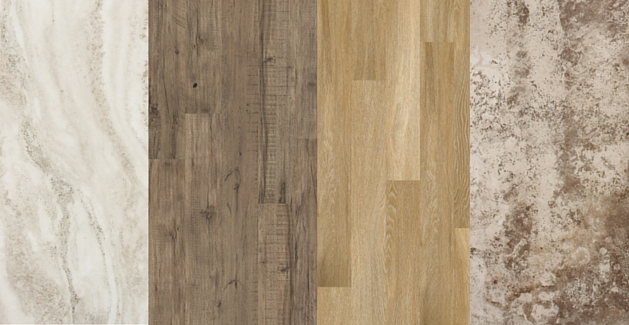 vinyl flooring types, lvt