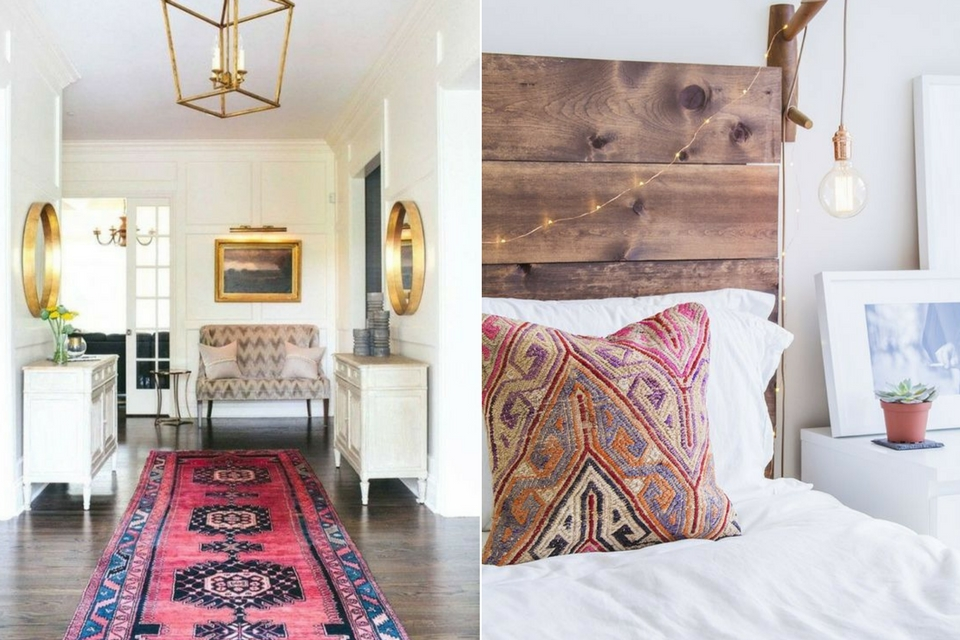 Interior Design Trends 2017, Kilim Print